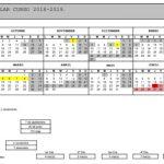 Propuesta calendario escolar del curso 2018-19
