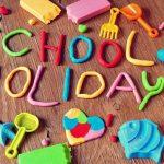 ¡Felices vacaciones! Happy school holidays!
