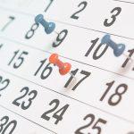 Calendario próximo curso
